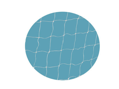 Plus Netz und Bolzen für Fussballtor 240 x 70 x 128 cm
