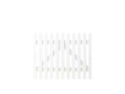 Plus Skagen Einzeltor weiss grundiert 100 x 80 cm
