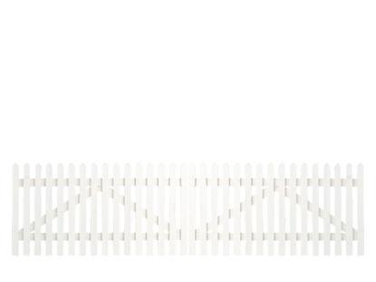 Plus Skagen Doppeltor weiss grundiert 300 x 80 cm