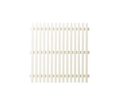 Plus Skagen Zaun weiss grundiert 150 x 150 cm