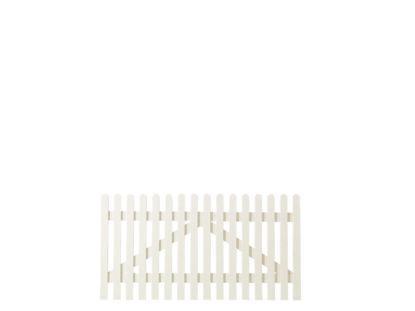 Plus Retro Einzeltor weiss grundiert 150 x 80 cm