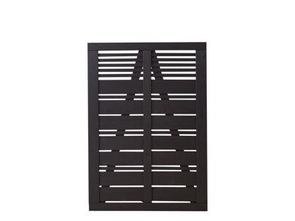 Plus Silence Einzeltor schwarz grundiert 100 x 140 cm