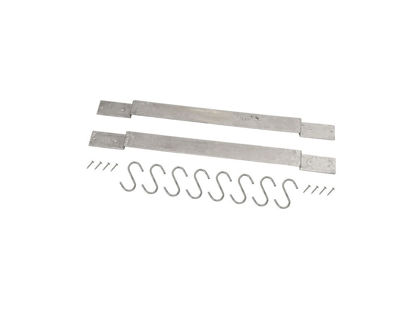 Plus Gartengarderobe für Sichtschutz Stahlbügel mit 8 Haken
