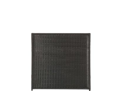 Plus Trend Zaun Polyrattan 115 x 110 cm