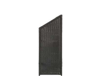 Plus Trend Übergangselement Outdoor Polyrattan 55 x 140 / 110 cm