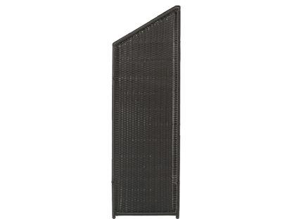Plus Trend Übergangselement Polyrattan 55 x 170 / 140 cm Sichtschutz Raumteiler