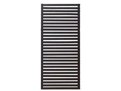 Plus Tokyo Sichtschutzelement Zaun schwarz 83 x 180 cm