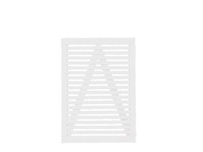 Plus Tokyo Einzeltor weiss 100 x 140 cm Gartentor