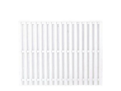 Plus Nagano Zaun Weiß 180 × 140 cm