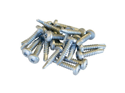 Plus Schrauben-Set für Montage auf Stahlpfosten (24 Stck) für Cubic und Weitere