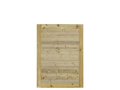 Plus Plank Gartentüre Fichte druckimprägniert 100 x 125 cm