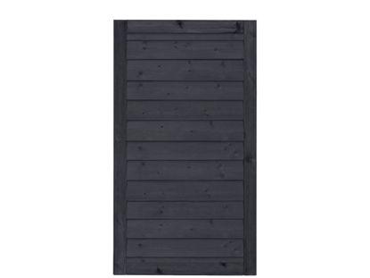 Plus Klink Tor schwarz 100 x 163 cm