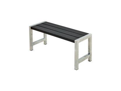 Plus Cafébank Kiefer-Fichte schwarz 127 cm