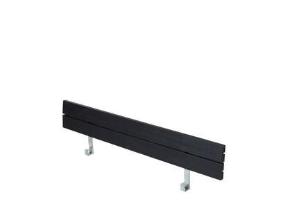 Plus Rückenlehne Kiefer-Fichte schwarz für Zigma Kombimöbel 166 cm