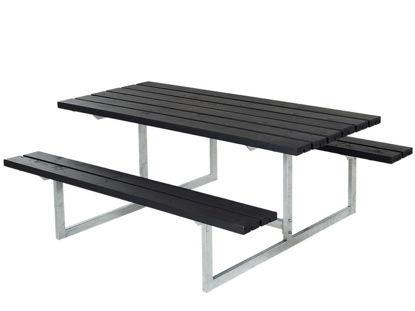 Plus Basic Kombimöbel Kiefer-Fichte schwarz 177 x 160 x 73 cm