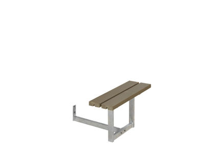 Plus Anbausatz komplett für Basic Kombimöbel Kiefer-Fichte graubraun  77 cm
