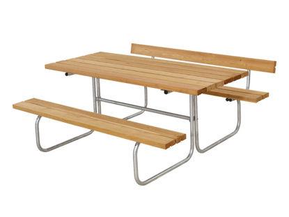 Plus Classic Kombimöbel mit 1 Rückenlehne Lärche unbehandelt 177 x 166 cm