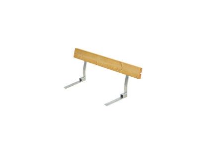 Plus Rückenlehne Lärche unbehandelt für Plankenbank mit Beschlag 118 cm