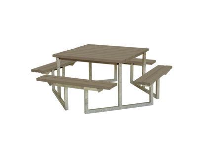 Plus Twist Sitzgruppe Kombimöbel Kiefer-Fichte graubraun 204 cm