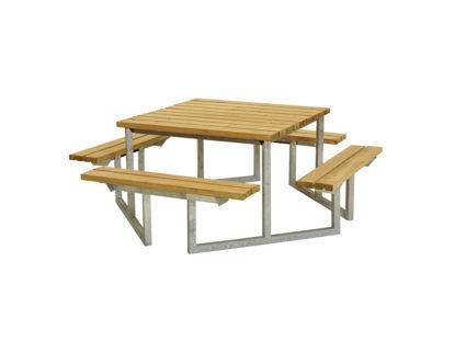 Plus Twist Sitzgruppe Kombimöbel Lärche unbehandelt 204 cm