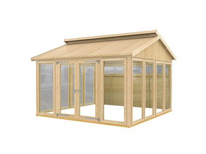 Plus Pavillon Modell 3 - 350 x 350 x 283 cm